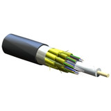 CORNING 48 fiber FREEDM One cable. Indoor/outdoor riser rated SMFe, .65/.50 dB/km. Print in ft. MOQ 100ft.