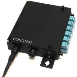 Corning Single Panel Wall Mount Lc Adapter 12 Fibers