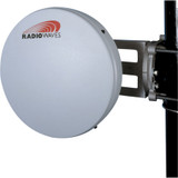 Radio Waves - 5.25-5.85 GHz 22dBi 1' Parabolic Dish, N Female