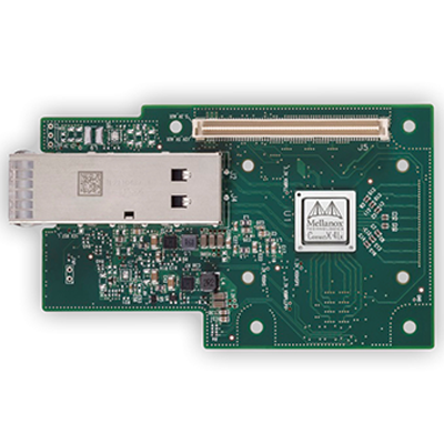 Mellanox MCX4431A-GCAN ConnectX-4 Lx EN Network Interface Card for OCP with Host Management 50GbE Single-Port QSFP28 PCIe3.0 x8 No Bracket ROHS R6
