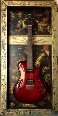 G Frames Quot Tequila Sunrise Quot Guitar Display Case