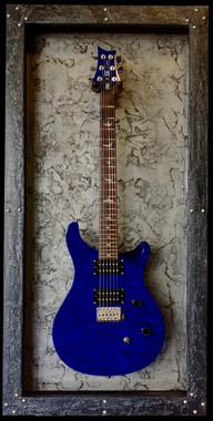 G Frames Quot Heavy Metal Quot Guitar Display Case