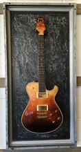 "Guitar Display Case, Shadow box, Guitar mount, Guitar wall hanger, Guitar holder, JeLis Decor, DisplayMyGuitar.com G-Frame, G-Frames , Guitar art, Guitar decor, Gibson, Fender, Les Paul, Stratocaster, Bass, Crate, Martin, Taylor, peavey, ESP, washburn, paul reed smith, Takamine, yamaha, ibanez, Guitar Case, Guitar mount, Guitar stand, Guitar holder Gibson, Fender, Les Paul, Stratocaster, Bass, Crate, Martin, Taylor, peavey, ESP, washburn, paul reed smith, Takamine, yamaha, ibanez, Guitar Case, Guitar mount, Guitar stand, Guitar holder  G Frames ""Modern Rock Silver"" Guitar or Bass Display Case"