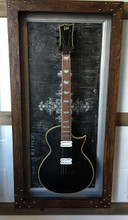 Guitar Display Case, Shadow Box, Guitar Mount, Guitar Wall Hanger, Guitar  Holder