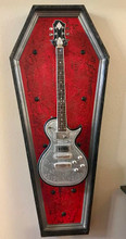 "G-Frames ""Inside this Coffin"" Guitar Display Frame"