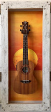 "G-FRAMES- UKULELE DISPLAY ""Rising Sun"""