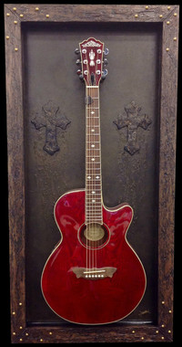 G Frames Quot The Light House Quot Guitar Display Case