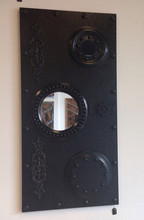 Steampunk Styled Faux Door with Mirrors