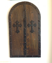 Gothic medieval decorative Faux Door