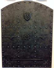 Doors, Decorative Doors, Vault Steel Door, Man cave decor, Steampunk, Medieval, Gothic, (Faux Steel),