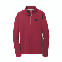 Men's Sport-Wick Textured ¼-Zip Pullover