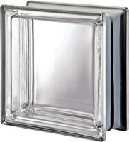 Pegasus Metalized Neutro Smooth Glass Block