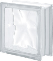Pegasus Neutro Q19 Wavy Glass Block