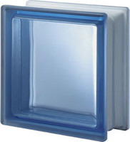 Pegasus Blue Q19 Transparent Glass Block