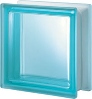 Pegasus Aquamarine Q19 Transparent Glass Block
