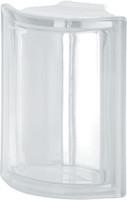 Pegasus Neutro Corner Transparent Glass Block
