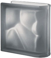 Pegasus Nordica End Linear Satin Glass Block