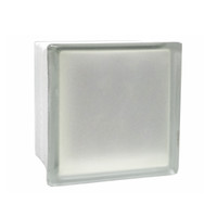"Frosted 6""x6""x3"" VitraBlok"
