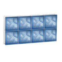 "30"" x 15"" Pre-Assembled Panel - Pegasus Collection - Satin Blue"