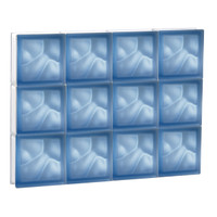 "30"" x 22.5"" Pre-Assembled Panel - Pegasus Collection - Satin Blue"