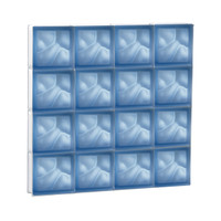 "30"" x 30"" Pre-Assembled Panel - Pegasus Collection - Satin Blue"