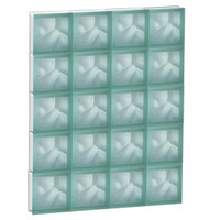 "30"" x 37.5"" Pre-Assembled Panel - Pegasus Collection - Satin Green"