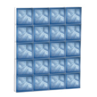 "30"" x 37.5"" Pre-Assembled Panel - Pegasus Collection - Satin Blue"