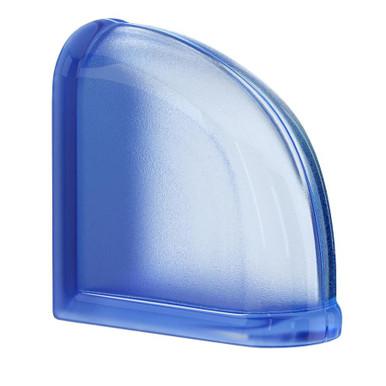 MyMINIGLASS Blueberry Crackled Glass Block