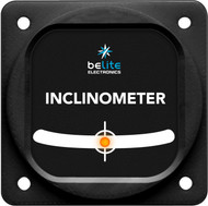 Inclinometer with square bezel