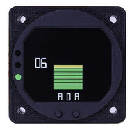 RADIANT ANGLE OF ATTACK SENSOR AND DISPLAY SYSTEM --LEADING EDGE)
