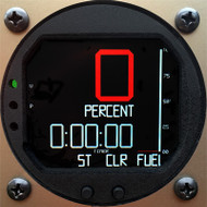 Single Function RADIANT Fuel Gauge