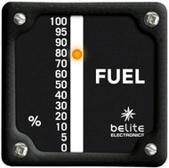 LED Single Display Fuel Gauge (FGA) with square bezel