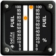 LED Dual Display Fuel Gauge (FGA) with square bezel