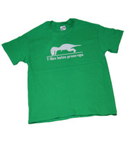 T- Rex Hates Press-ups. T-Shirt.