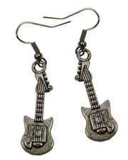 Guitar.  Earrings
