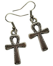 Ankh. Earrings