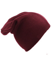 Slouch Hat. Burgundy