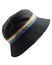 Bucket hat. Rainbow pride