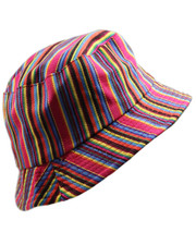 Bucket hat. Candy stripe