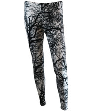 PRINTED LEGGINGS. TREE SCAPE