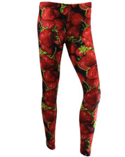 PRINTED LEGGINGS. STRAWBERRIES