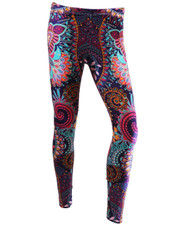 PRINTED LEGGINGS. MANDALA