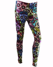 PRINTED LEGGINGS. SUGAR SKULLS