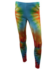 PRINTED LEGGINGS. TIE DYE