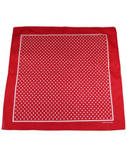 PATTERN BANDANA. RED POLKA DOT