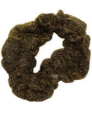 Lurex scrunchie. Gold