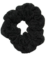 Lurex scrunchie. Black