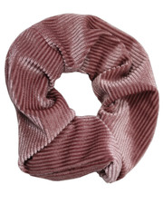 Pin cord scrunchie. Dusky pink
