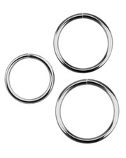 Open ring. Surgical steel