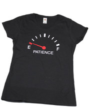 Patience.  Ladies T Shirt.